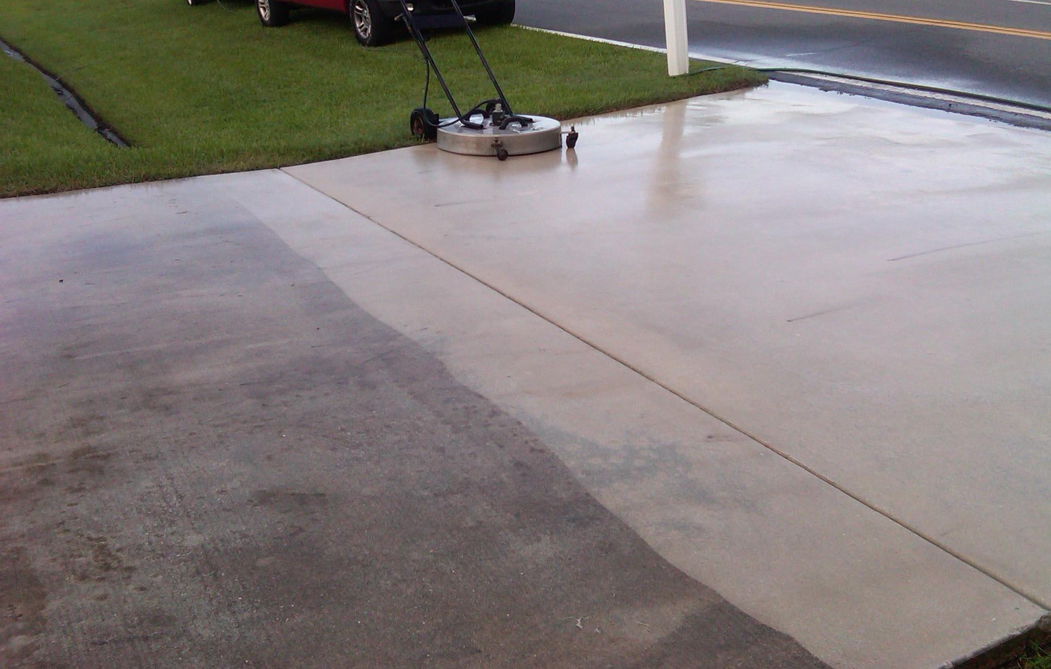 Concrete Power Washing and Sealing, Driveway Power Washing St. Louis